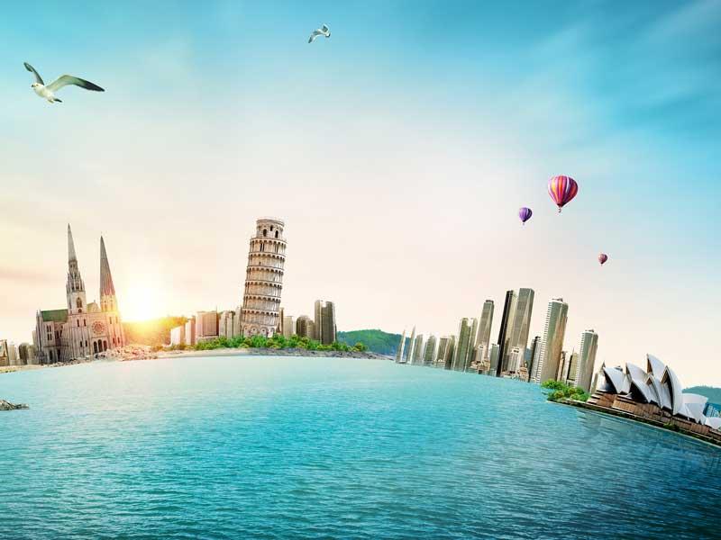 <b>美国项目:侨外出国时代广场701TSQ大厦封顶</b>